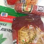 カルディの買い置き食材で作れる【白いんげん豆とトマトのショートパスタ】