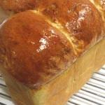 マトファーのパウンド型で抹茶練乳パンを焼きました☆
