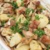 【ハーブ料理】タイムの香り広がる「チキンとポテトのオーブン焼き」
