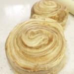 キャラメルパンの作り方(2)「ベンチタイム」~「折込作業と成型まで」