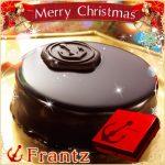 クリスマスケーキは神戸フランツ「濃厚ザッハトルテと壺プリンセット」を注文しました。