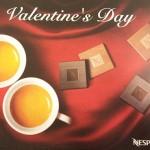 ネスプレッソのバレンタインデーキャンペーン開始♪チョコ1箱のギフト付きですよ~☆