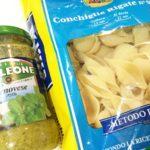 【カルディ】味付け不要の「ソル・レオーネ バジルソース」とコンキリエで簡単パスタランチ♪