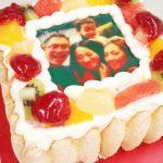 誕生日はサプライズのピクトケーキ♪スマホ写真がそのままケーキになる話題のお味はどう?試食してきました!