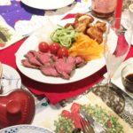 ふるさと納税でクリスマス☆北海道のローストビーフ、甲州スパークリングワインで美味しいディナー♪