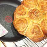 ティファール26cmフライパンでメープルパンを焼いてみよう♪T-falはパン焼型の代わりになる?実証しました!